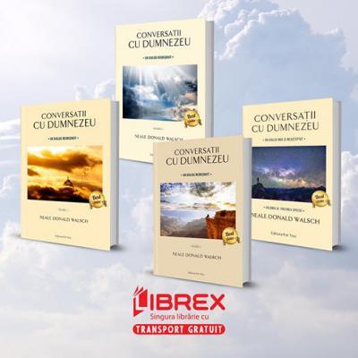 Conversatii cu Dumnezeu, 4 vol. + cutie, editie speciala